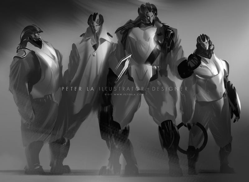 The Haunting, Beautiful Art of Peter La