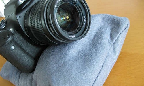 Craft a DIY Camera Bean Bag for On-The-Go Stability