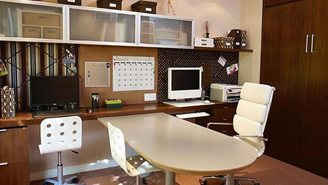 A Collaborative Home Office with a Secret