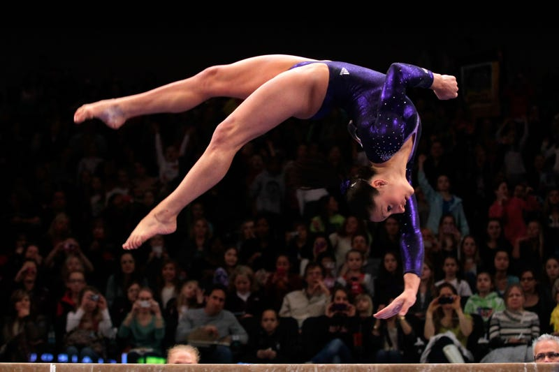 """The """"Scam Cup"""": How A Very American TV Event Gives U.S. Gymnasts A Leg Up On The Olympic Competition"""