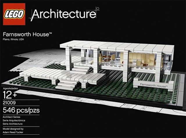 Farnsworth House Becomes Latest Lego Architecture Set to Store Away From Sticky Fingers