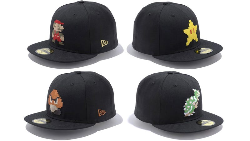 New Era Introduces Caps Celebrating Your 8-Bit Heros