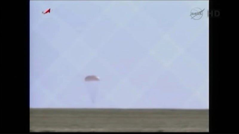 Soyuz Capsule Returns Chris Hadfield and Crew Safely Back to Earth