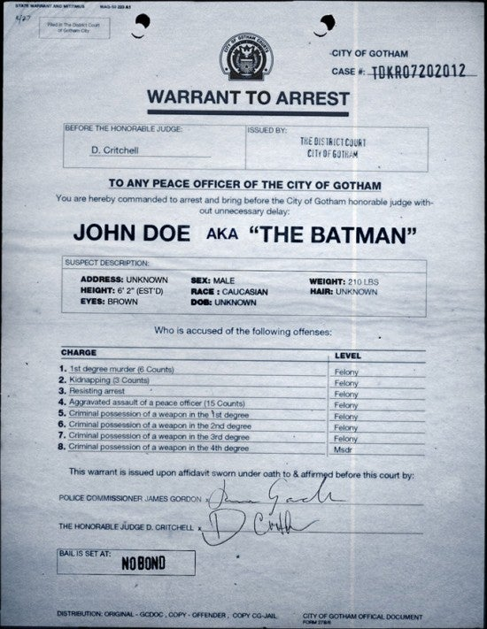 New Dark Knight Images from Viral Site