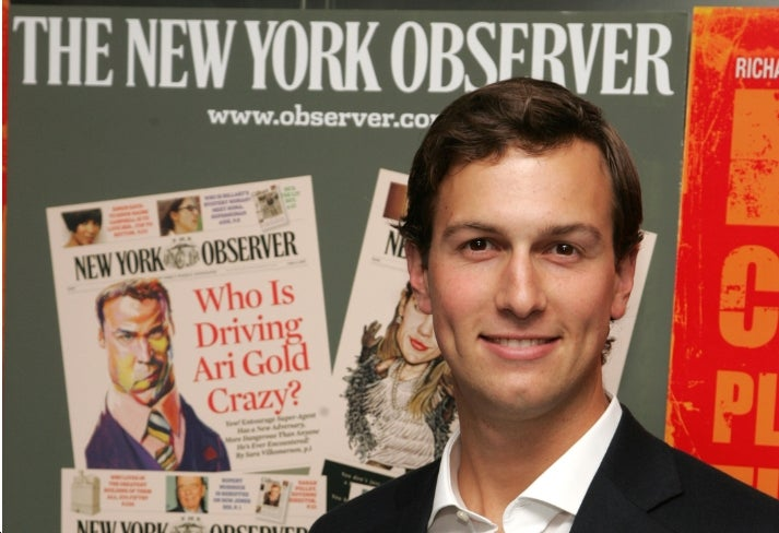 Richie Rich Rich Boy Jared Kushner Hates Taxes on the Rich