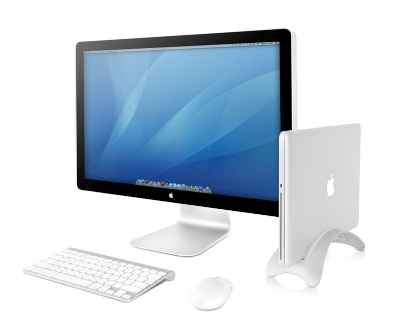 BookArc Stand Turns a MacBook Into a Desktop