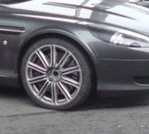 Aston Martin Rapide Spotted Undisguised
