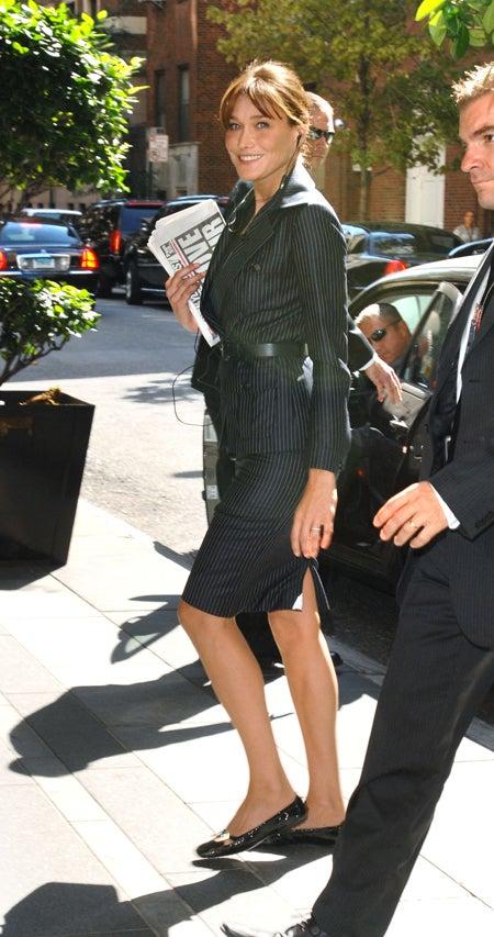 Madame Sarkozy Makes Takes Headlines