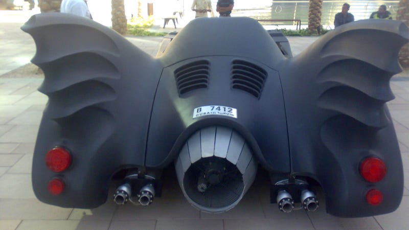 Only In Dubai Would Someone Daily Drive The Batmobile