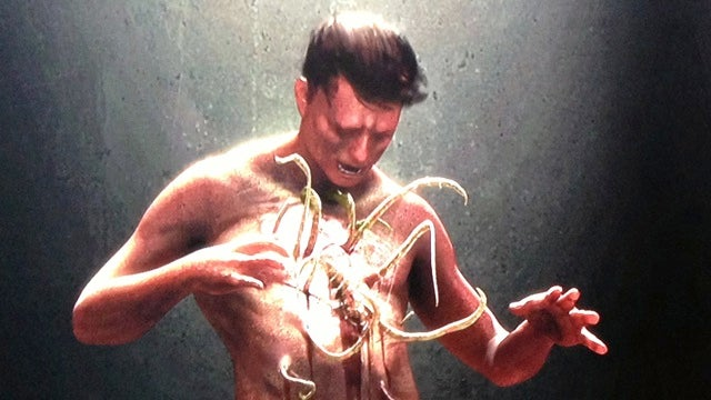 Concept art reveals the gruesome chestburster that didn't make it into Prometheus