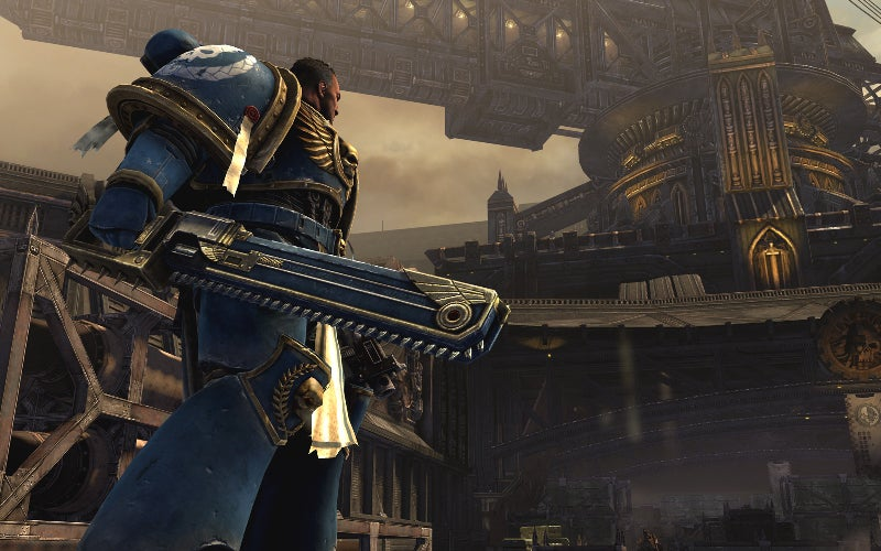 Warhammer 40K: Space Marine Pits Thousands of Orks Against One Chainsword