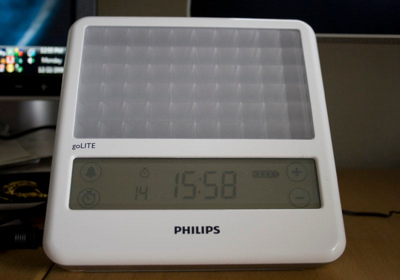 Philips goLITE BLU Light Therapy Clock Lightning Review