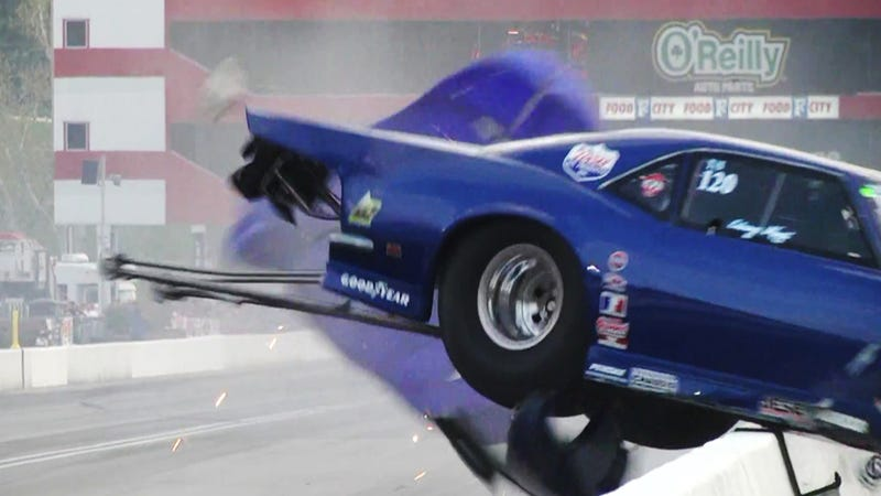 The Ten Most Embarrassing Drag Racing Moments Caught On Video