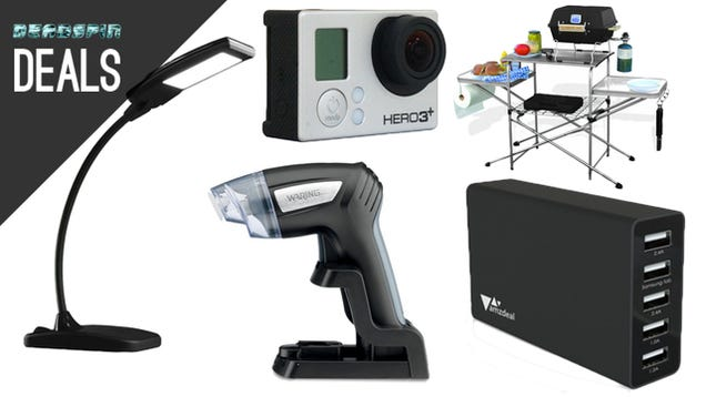 Criterion Films On Sale, Great GoPro Deal, Foldable Grilling Table