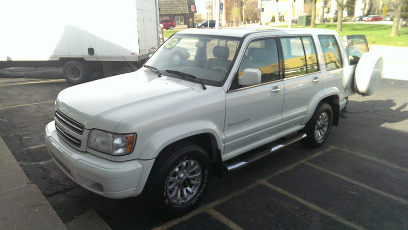 This could be the one: 2002 Isuzu Trooper Ltd. Thoughts?