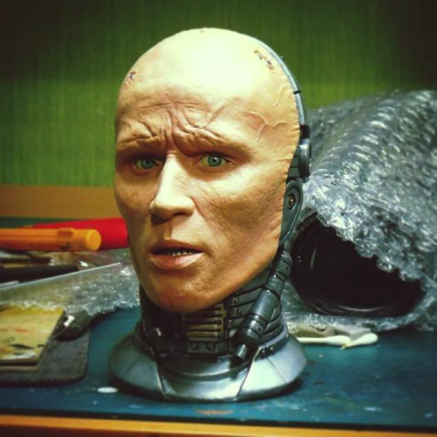 RoboCop Brought to Life in This Custom Sculpture