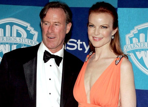 Completely un-gay Marcia Cross has twins, after omitting precautionary sofa-jumping stage.