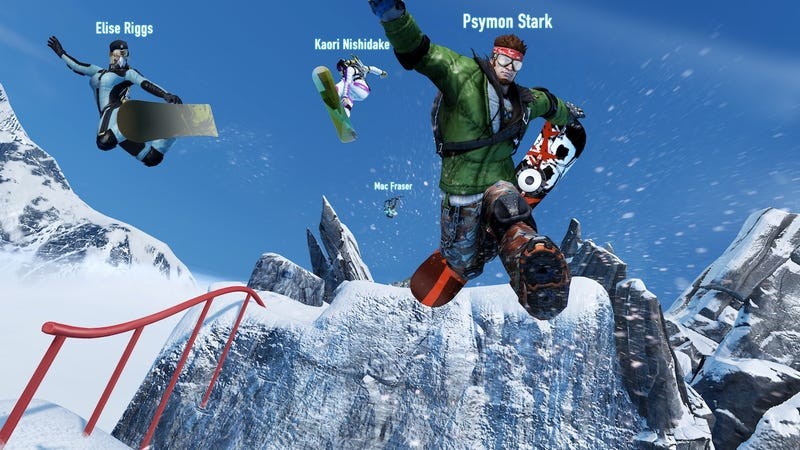 Multiplayer Madness Abounds in These New SSX Screens