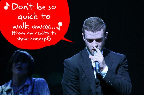 "Justin Timberlake Presents New MTV Reality Show Called ""The Phone"""
