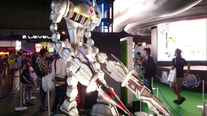 Scenes from the Scenic Tokyo Game Show Floor