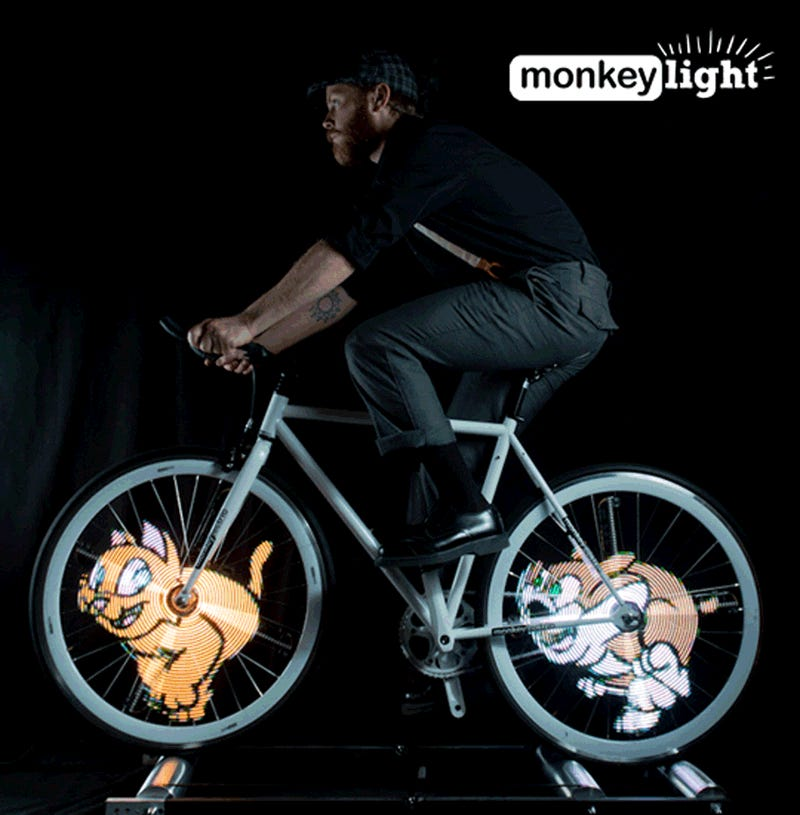Put A Nyan Cat (Or Any Other GIF) in Your Bike Spokes