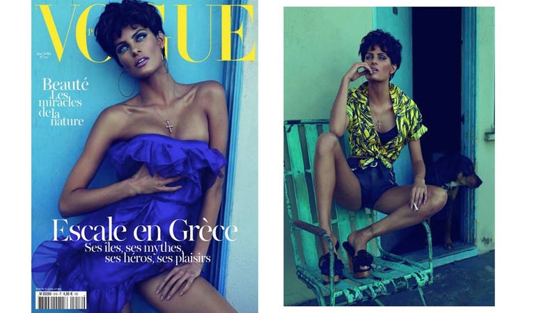 The New Vogue Paris Looks A Lot Like The Old Vogue Italia