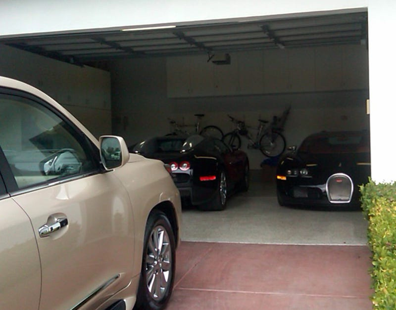 Two Bugatti Veyrons Found In Crappy Suburban Garage