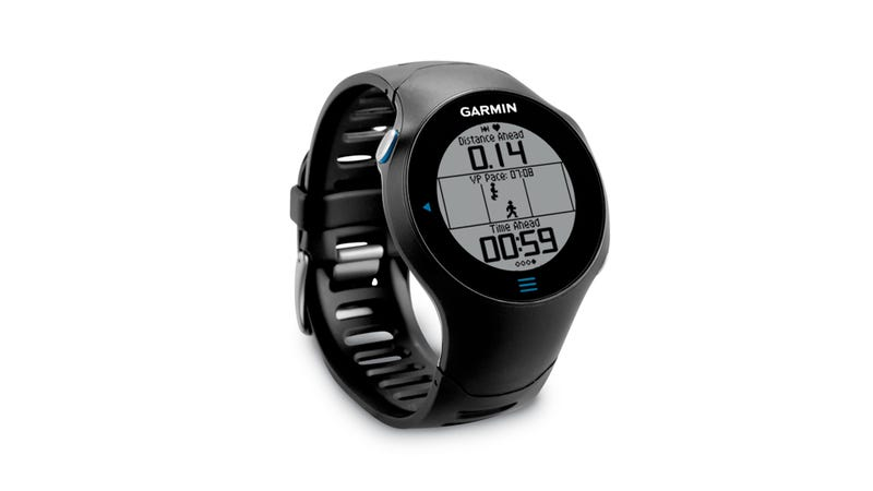 A Touchable GPS Watch for Runners
