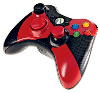 Xbox 360 Controller Mixes Black, Red and Black (and Red)