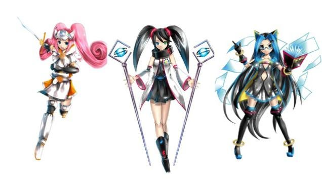 ​Sega Hardware Girls Getting Their Own Anime