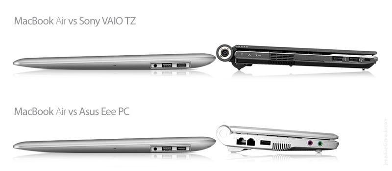 How Slim Is the MacBook Air?