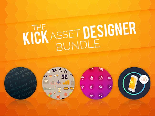 Get $1000 Worth of Design Resources for $49 w/ The Kick Asset Designer Bundle