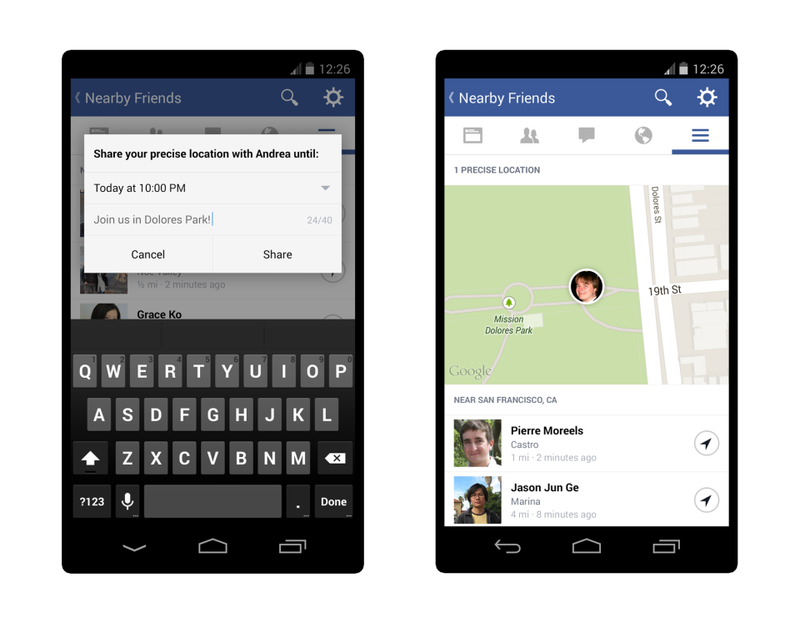 Facebook Lets You Track Friends' Precise Location Through Their Phones