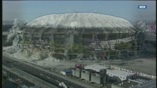 Red Sox Broadcast Airs Video Of Metrodome Implosion That Never Happened