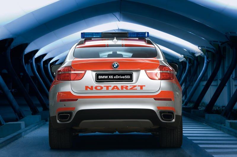 BMW X6 Emergency Response Truck Is No Ambulance