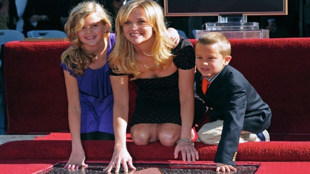 Reese Witherspoon Honeymoons With Her Kids