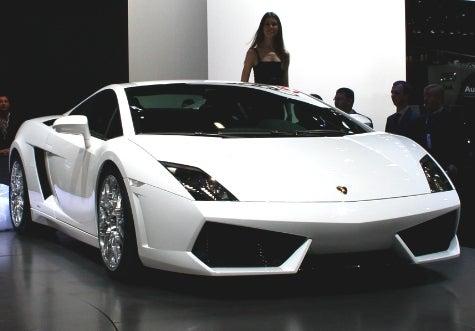 Lamborghini Gallardo LP560-4 Uncovered at the Geneva Motor Show