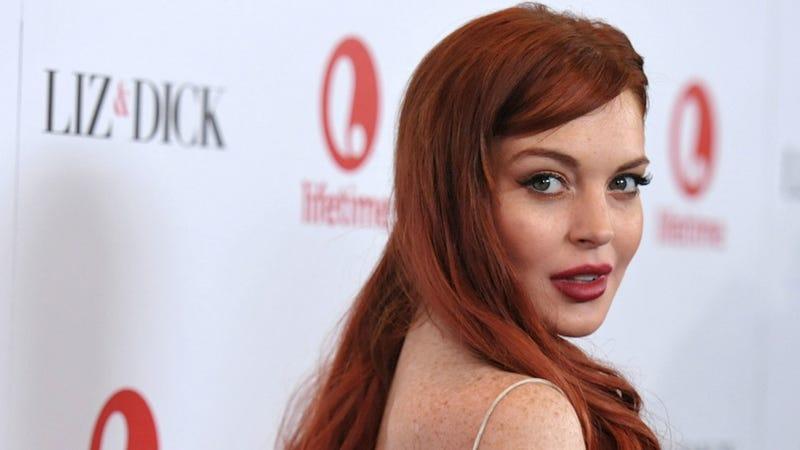 It Really Doesn't Seem Fair to Have Lindsay Lohan Mimic Elizabeth Taylor