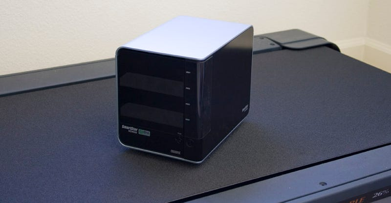 Promise SmartStor NS4600 Network Storage with Time Machine Support Review