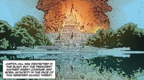 Sci Fi Terrorism Comes To Comics