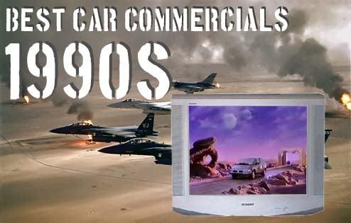 Top Ten Best Car Ads Of The 1990s