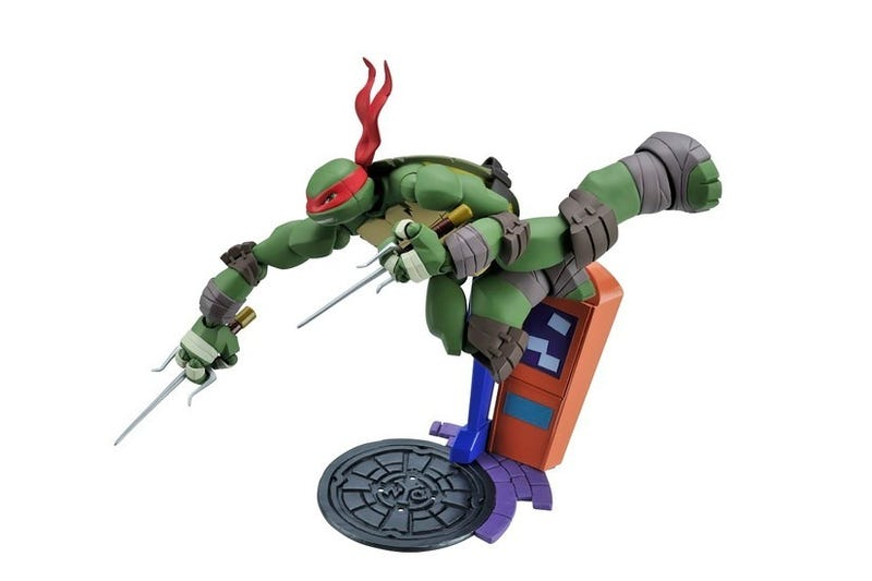 New Teenage Mutant Ninja Turtle Figures Revealed