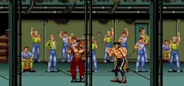 Another must-have retro game: 8-bit Fight Club