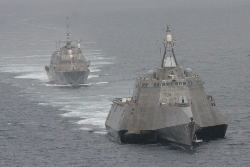 The Littoral Combat Ship Will Use Hellfire Missiles To Repel Enemies