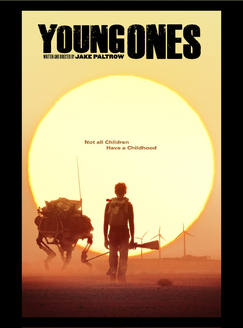 Trailer For Dystopian Flick Young Ones Features The Real Robot BigDog