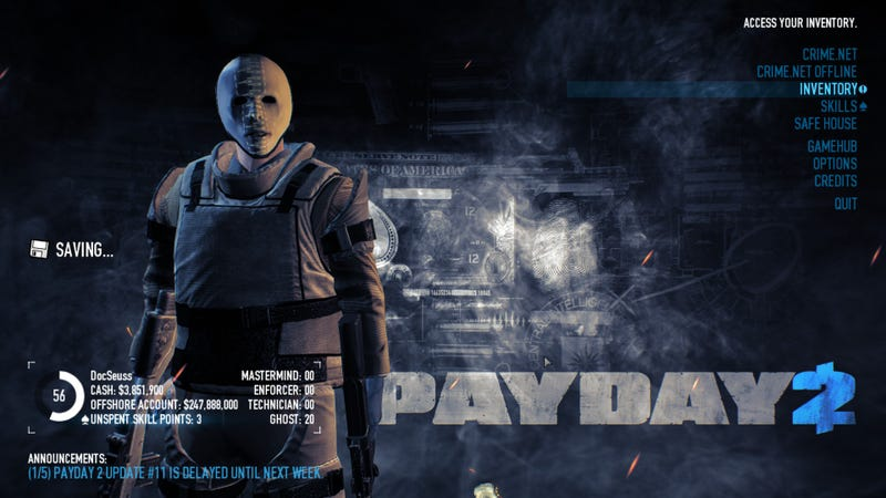I Want To Love Payday 2, but... (Pt. 1)
