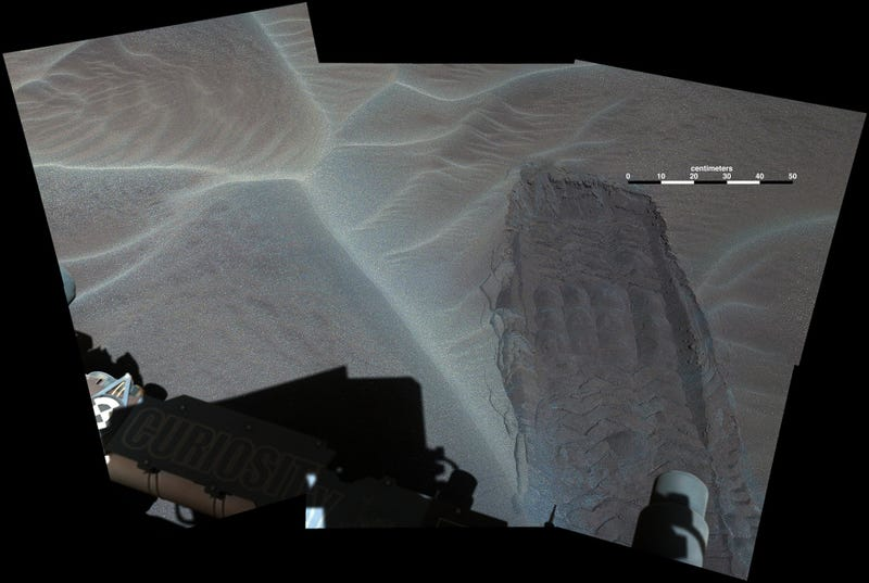 For the First Time Ever, a Rover Has Ventured Onto a Martian Sand Dune