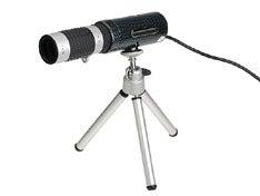 USB Web Cam With Telescope