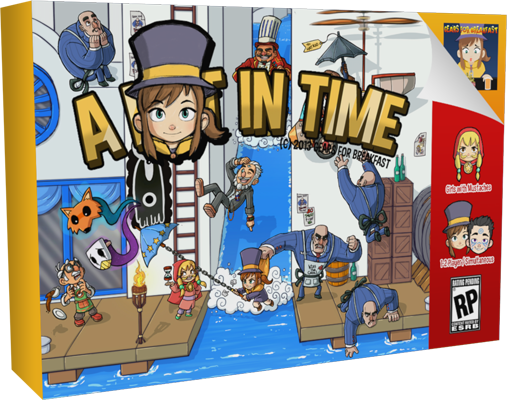 Tay Blip: A Hat In Time got Greenlit today.