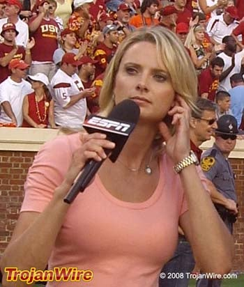 Source Confirms Stacey Dales Quit ESPN Because She Wouldn't Fly Coach